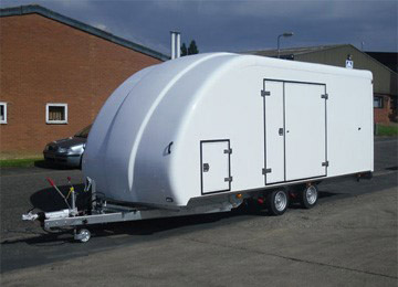Box Car Trailers For Sale Uk