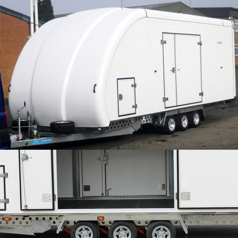 RL7000 Covered Trailer Image